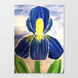 Paper Iris Canvas Print