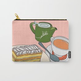 Aftenoon Cake Treat Carry-All Pouch