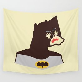 Bat Man Wall Tapestry