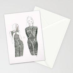 Pink Shibari  Stationery Cards
