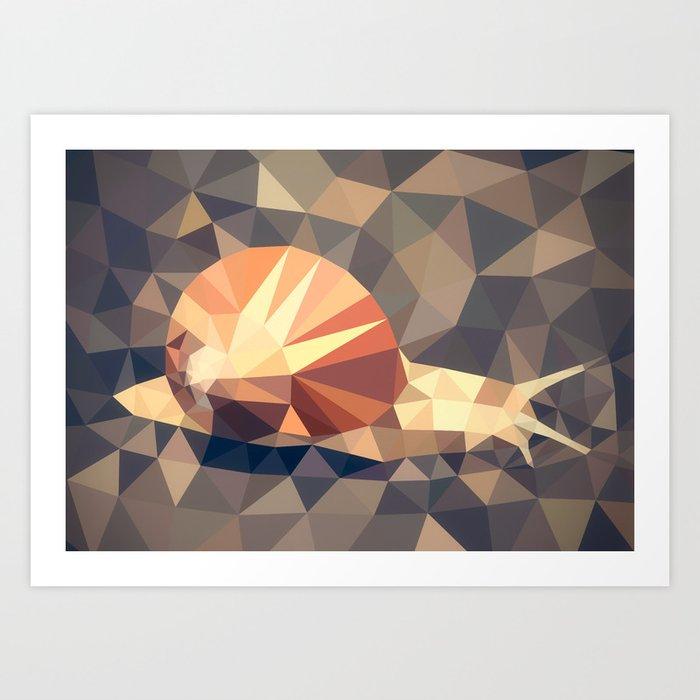 Helix pomatia Art Print