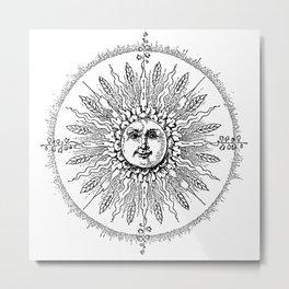 White Lights Metal Print
