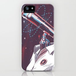 Mesearcher iPhone Case