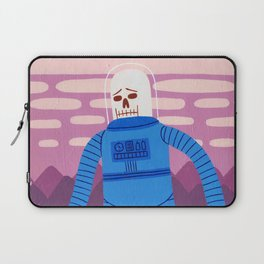 Sad Spaceman Laptop Sleeve