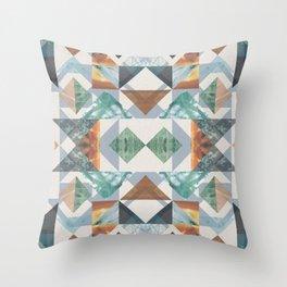 Garden Collage Throw Pillow