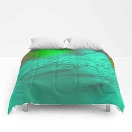 foreign mountain terrain II Comforters