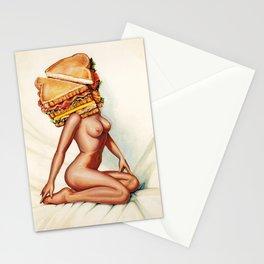 Sandwich Girl Stationery Cards