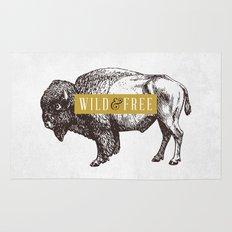 Wild & Free (Bison) Rug
