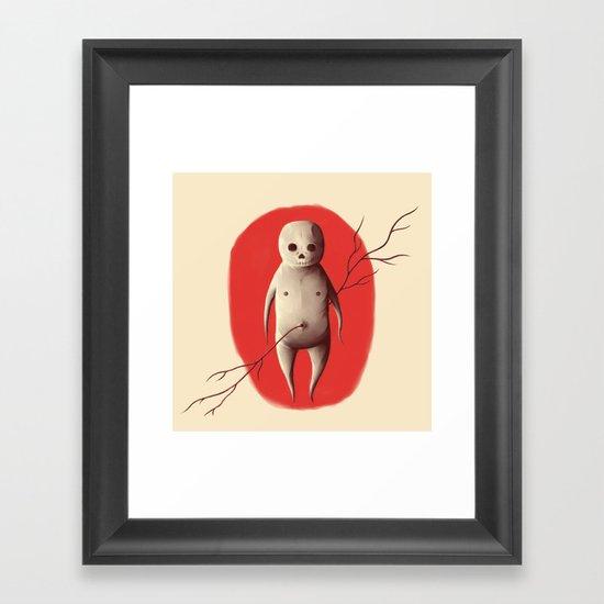 Baby void Framed Art Print