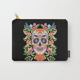 Best sugar skull day of dead dia de los muertos Carry-All Pouch