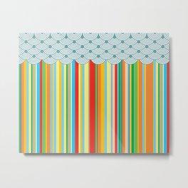 the stripes Metal Print