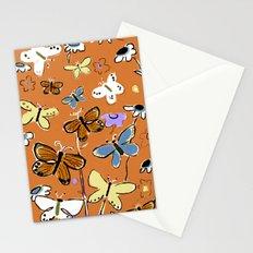 Butterflies Butterflies Stationery Cards