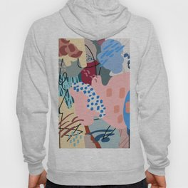 Autumn Abstraction Poster Hoody