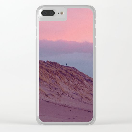 ENJOYING THE SILENCE Clear iPhone Case