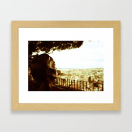 City Look Out Framed Art Print
