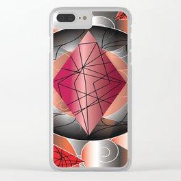 RedDiamond Clear iPhone Case