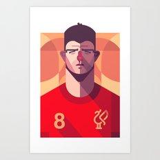 SG8   Reds Art Print