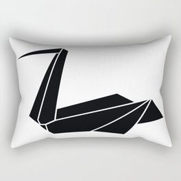 ORIGAMI PELICAN Rectangular Pillow
