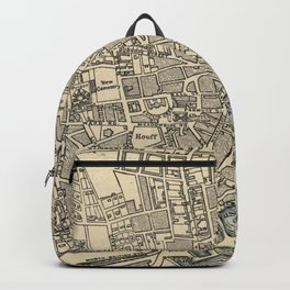 Vintage Map of Dundee Scotland (1901) Backpack