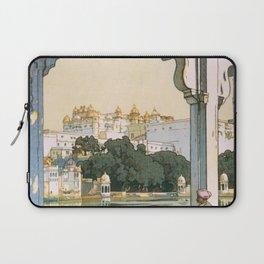 12,000pixel-500dpi - Yoshida Hiroshi - Castles In Udaipur - Digital Remastered Edition Laptop Sleeve