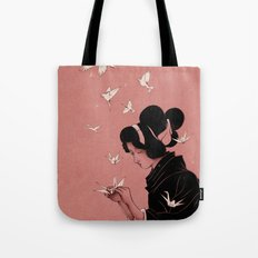 Becoming the Birds Tote Bag
