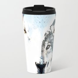 A Wolf In Sheep's Clothing by Sharon Cummings Travel Mug