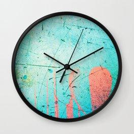 Marble Love Wall Clock