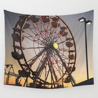 carnival Wall Tapestries featuring Carnival by ChaileyCrowdis