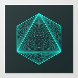 Isotomic Canvas Print