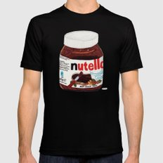 Nutella SMALL Black Mens Fitted Tee