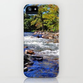 Guadalupe River iPhone Case