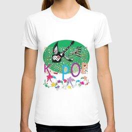 K-Pop Green T-shirt