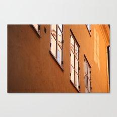 Stockholm Windows Canvas Print