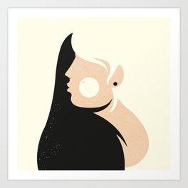 Woman ... Art Print