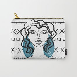 Blue Shakti Carry-All Pouch