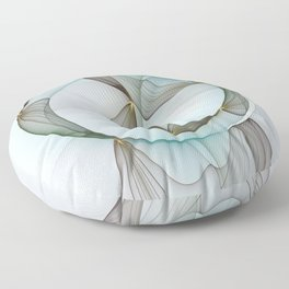 Abstract Elegance Floor Pillow