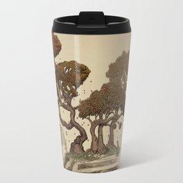 Autumn Chameleons  Travel Mug