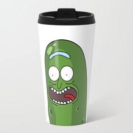 Pickle Rick Pocket! I'm Pickle Riiiiiiiick! Travel Mug