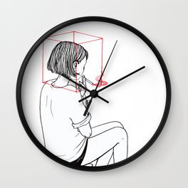Habit Breaking Wall Clock