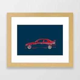 Love Bimmer-BMW E36 Framed Art Print