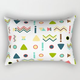 Exclamations Rectangular Pillow