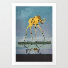 Dalimt Prehistoric Fantasy Art Print