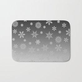 Snow Flurries Bath Mat