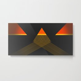 Reflections Metal Print