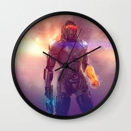 Shepard's Last Stand Wall Clock