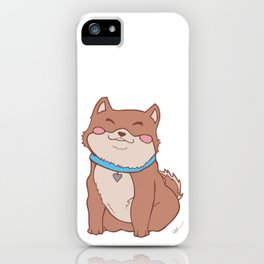 Poofers the Shiba Inu Puppy iPhone Case