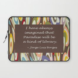 Paradise - The Library Laptop Sleeve
