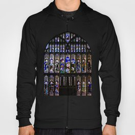 Stained Glass Window Shakespeare's Church Stratford upon Avon England Hoody