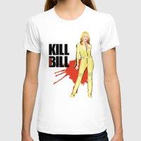 kill bill T-shirts featuring Kill Vampire Bill by AriesNamarie