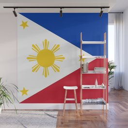 Philippines Flag Wall Mural